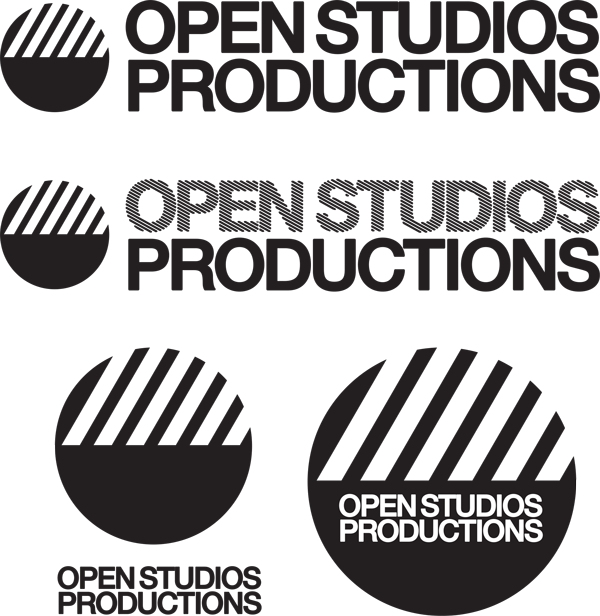 Open Studios Productions - Logo Drafts