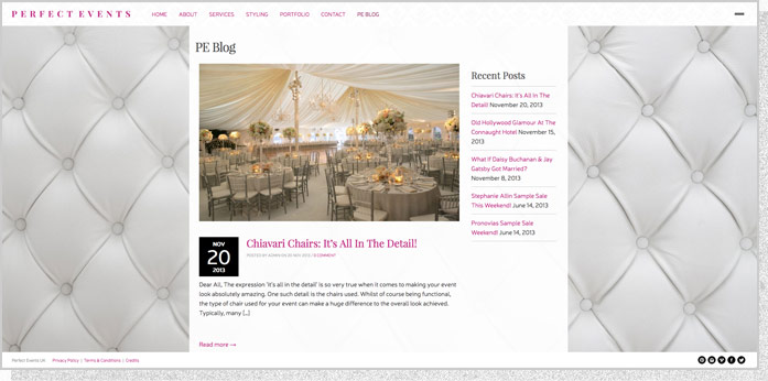 www.perfecteventsuk.com | Screen 04